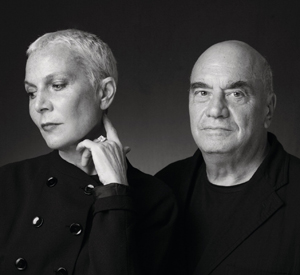 Doriana e Massimiliano Fuksas