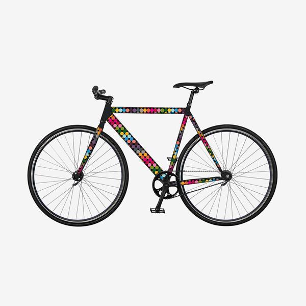 Remember RK13 flow kerékpár matrica